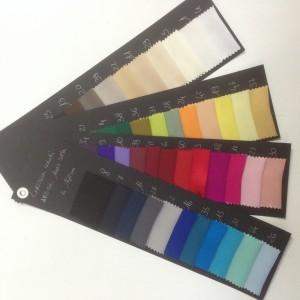 i colori di TL tessuti alta moda